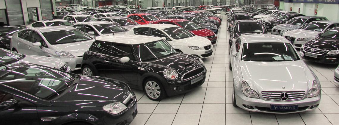 Central de venta de coches de segunda mano