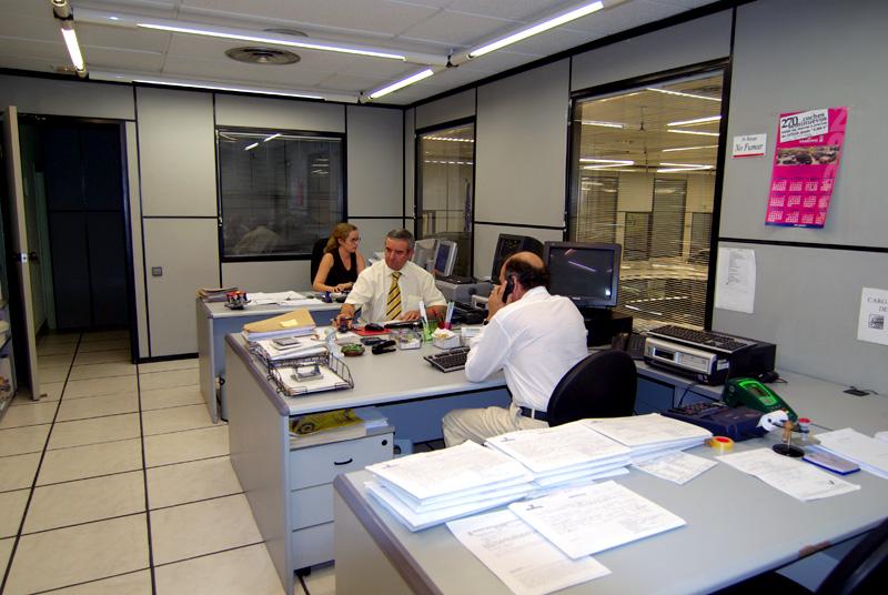 Personal cualificado en nuestras instalaciones en Madrid