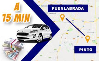 Tasamos tu coche y te damos hasta 2.000€ más que el resto en Fuenlabrada