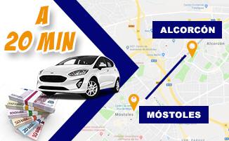 Tasamos tu coche y te damos hasta 2.000€ más que el resto en Mostoles y Alcorcon