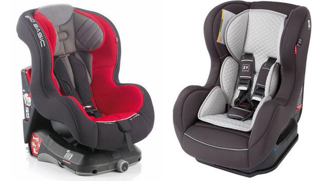 Sillitas de bebe para coche