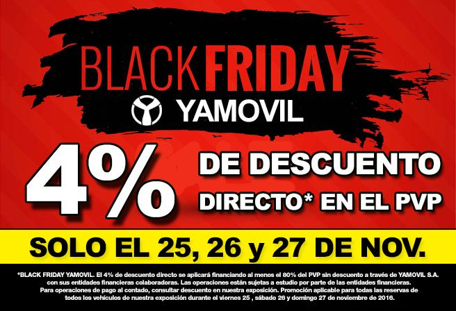 Black Friday Yamovil
