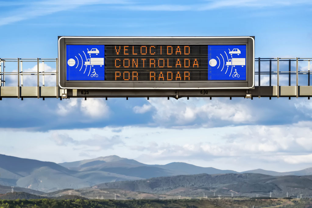 Radares tráfico España