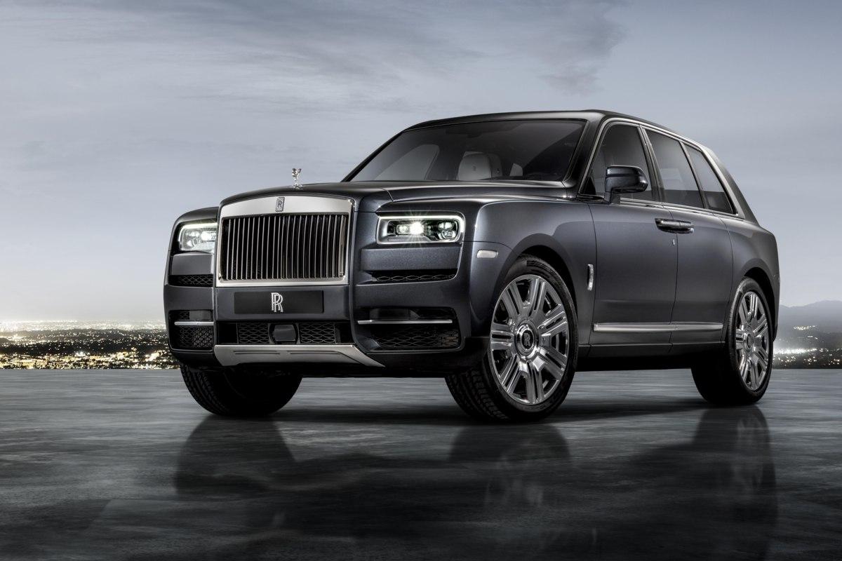 Rolls- Royce Cullinan
