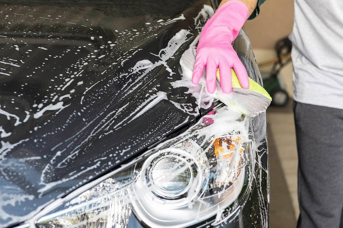 Lavar coche vacaciones