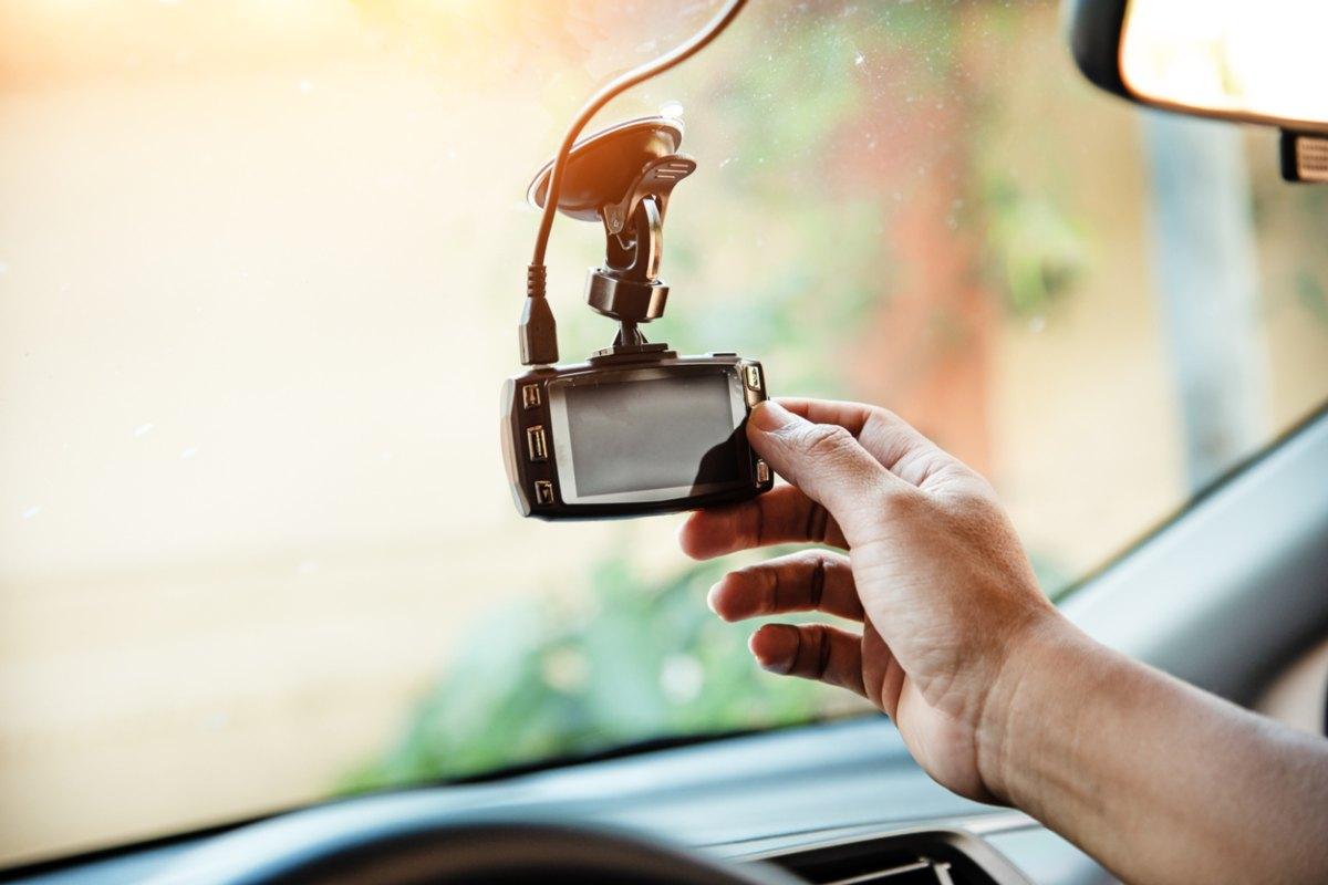 Llevar una cámara en el coche