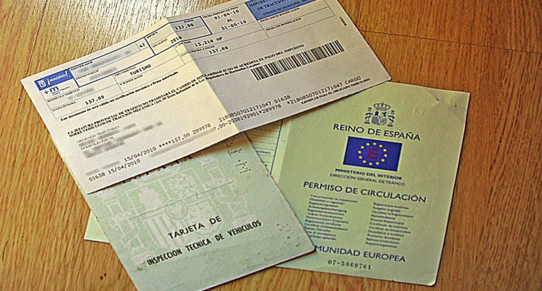 multas por no llevar los papeles del coche